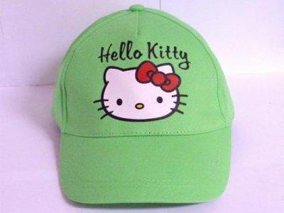 cappello hello kitty verde cappellino