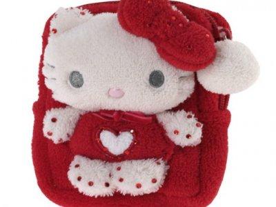 Pochette Pouch case Hello Kitty Marshmallow Red