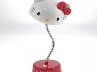lampada hello kitty da scrivania