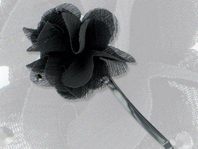 molletta camomilla veil rose black