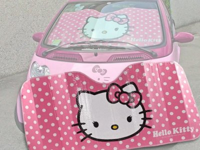 parasole hello kitty per parabrezza
