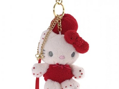 Portachiave Peluche S Hello Kitty marshmallow Red