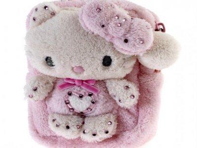 Pochette Pouch case Hello Kitty Marshmallow pink