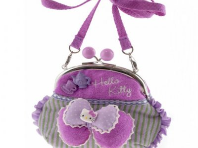borsa hello kitty pourse lilla