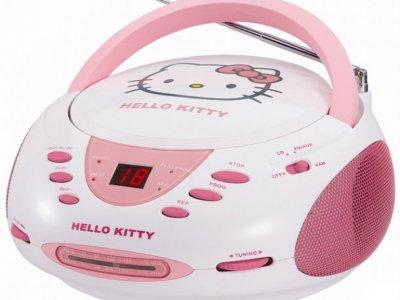 stereo radio cd hello kitty