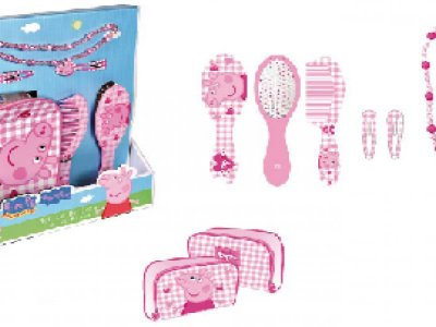 Set di bellezza con scatola in regalo Peppa Pig