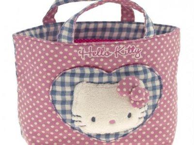 borsa hello kitty shopper S i love you pink