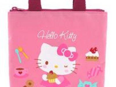 borsa hello kitty shopper XS pink