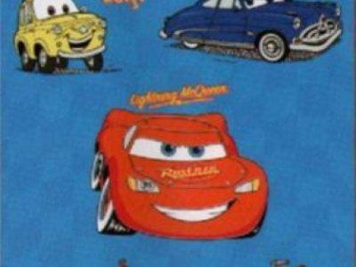 tappeto arredo cars 100x150 colore blu