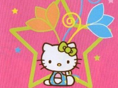 tappeto arredo hello kitty 80x120