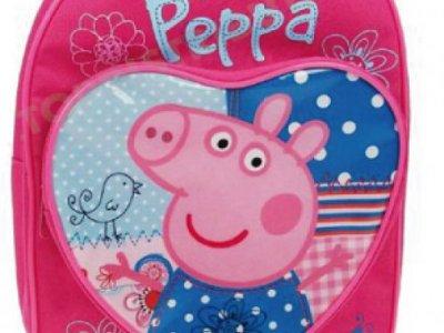 Zainetto con tasca a cuore Peppa Pig