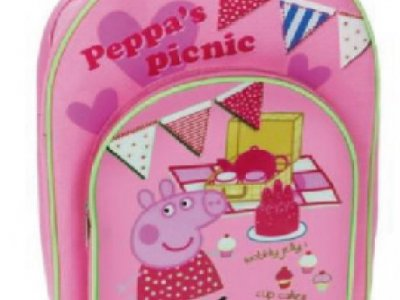 Zainetto Pic-nic doppia zip Peppa pig
