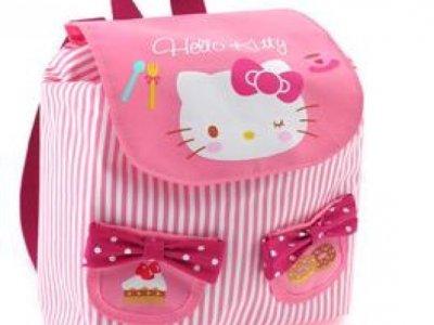 zaino hello kitty S pink
