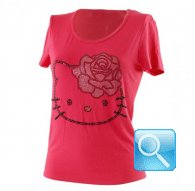 maglia hello kitty t-shirt rossa m
