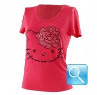 maglia hello kitty t-shirt rossa m