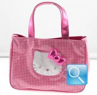 borsa hello kitty sporta hello kitty rosa 45x32x17
