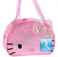 borsa hello kitty borsa beach boston bag dotty crystal
