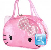 borsa hello kitty beach boston mini bag dotty crystal