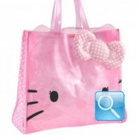 borsa hello kitty sporta s dotty cristal pink