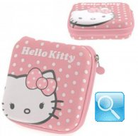 custodia hello kitty porta cd dvd multiplo