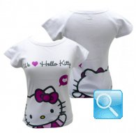 maglia hello kitty icon t-shirt bianca L