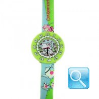 Orologio Charmmy Kitty Green Fields