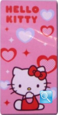 telo mare hello kitty 75x150 cuore