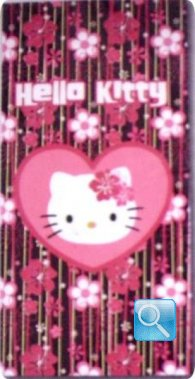 telo mare hello kitty 75x150 fiore