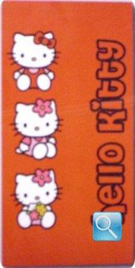 telo mare hello kitty 75x150 rosso