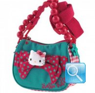 borsa hello kitty tracollina ribbon