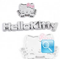 adesivi hello kitty decalcomania face