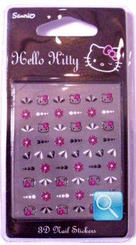 adesivi per unghie hello kitty c.2