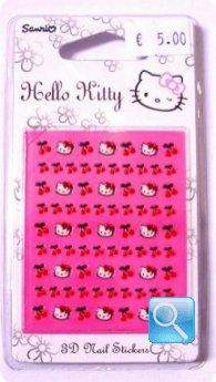 adesivi per unghie hello kitty c.8