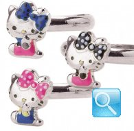 anello hello kitty ribbon