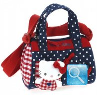 Borsa Bauletto Hello Kitty c-tracolla red&blue