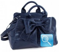 Bauletto Ribbon M Blue
