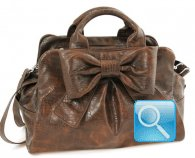 Bauletto Ribbon M Brown