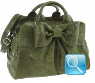 Bauletto Ribbon M Green