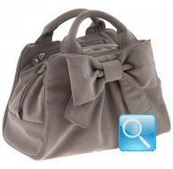 borsa camomilla bauletto s ribbon l.brown