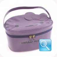 beauty case hello kitty L lilac