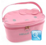 beauty case hello kitty L pink