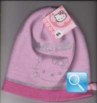 berretto hello kitty rosa