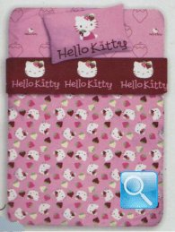 lenzuola hello kitty berries singolo