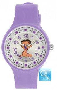 Orologio Betty Boop lilla