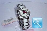 orologio hello kitty enamel bianco