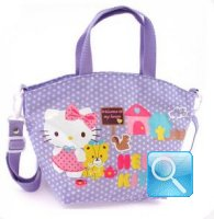 borsa hello kitty a mano c-tracolla dotty lilac