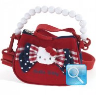 Borsa Hello Kitty a mano c-tracolla red&blue