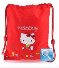borsa hello kitty a sacchetto L red
