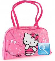 Borsa Hello Kitty Boston Jewerly Pink