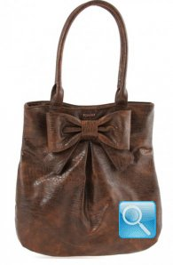 Borsa Ribbon L Brown